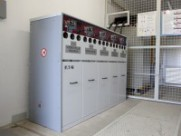 Production hall with a transformer station ''Bomark pak'' – Pi=3x1000 kW